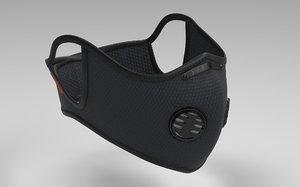 n99 urban style respirator 3D