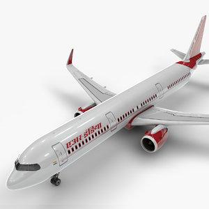 a321 neo air india 3D model