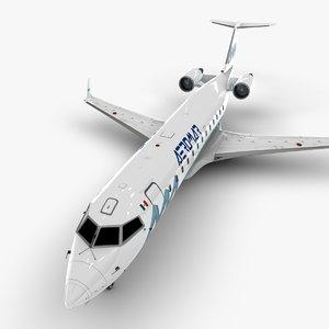 3D model bombardier crj 200 l1044