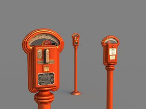 1940 duncan parking meter model