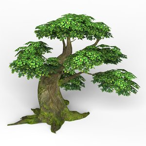3D model ready fantasy tree games