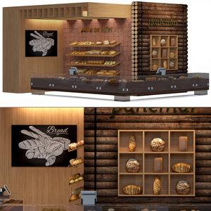 cafes 3D