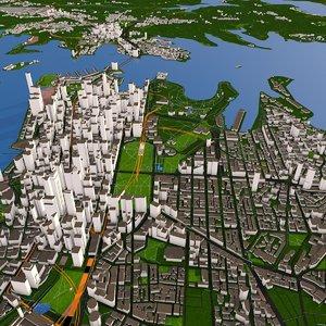 2020 city 3D model
