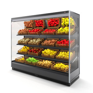 3D fruit vegetable refrigerator arneg
