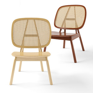 cane lounge chair 3D