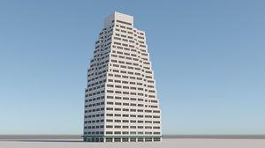 3D model ave building