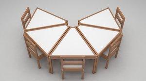 3D activity table