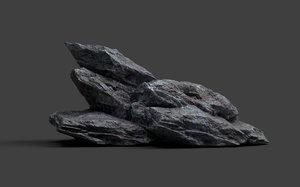 3D rock games model
