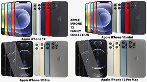 3D model realistic apple iphone 12