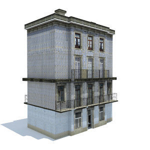 old apartment 3D model