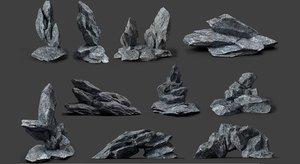 rocks games 3D