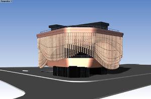 3D bund finance centre foster