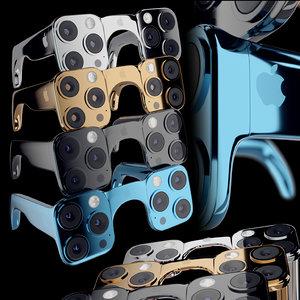 3D iphone 12 glasses model