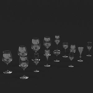 wine glasses hr max