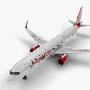 3D a321 neo avianca l1050