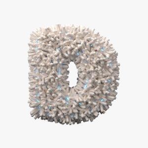 light letter 3D model
