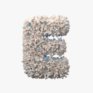 3D model light letter