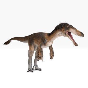 3D model raptor austroraptor