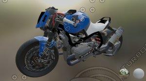 ducati monster racer 3D model