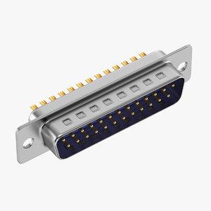 3D connectors model
