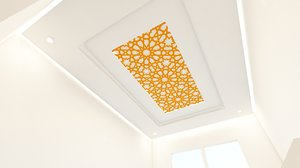 moroccan ceilings 3D model
