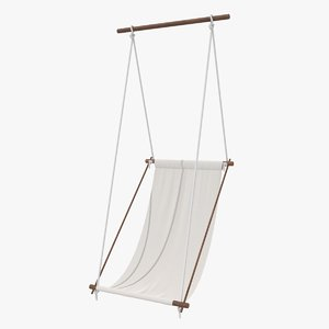 hanging chair swing 3D