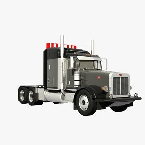 378 heavy haulage 3d model