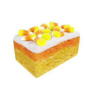 halloween cake candy 3D