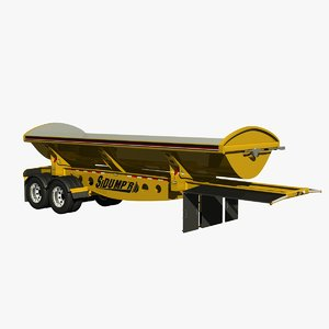 3D sidumpr sdr233-49 dump trailer