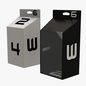 3D 2 packaging box product