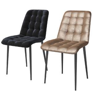 1316 kaza chair 3D model