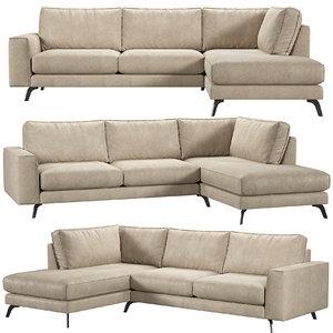 3D athena kaza sofa