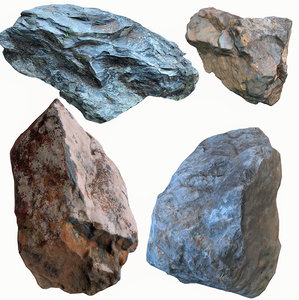 3D scan stone rock