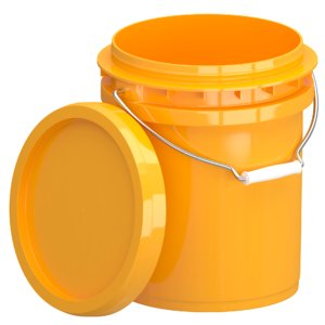 3D food grade 5l plastic