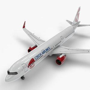 3D a321 neo czech airlines