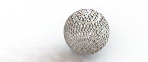 sphere decoration 3D model
