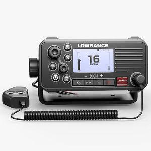 3D marine radio lowrance link-9