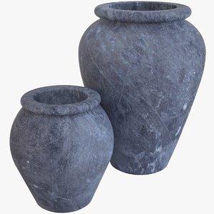 decorative pots model