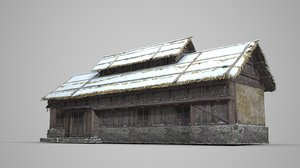 dwellings architecture 3D