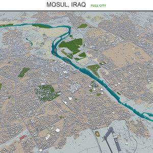 city area building 3D model