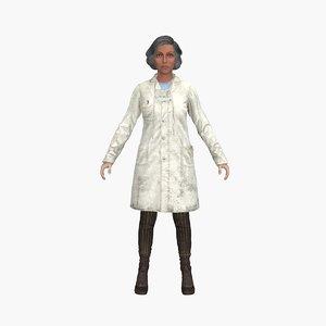 3D emily lowett model