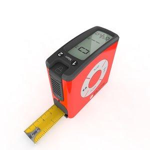 3D tape measure digital