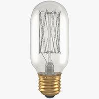 Vintage Edison Fat Tube Filament Bulb T45