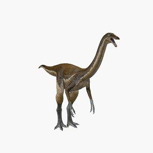 dinosaur gallimimus ornithomimus 3D model