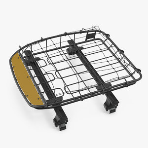roof basket wingbar 3D