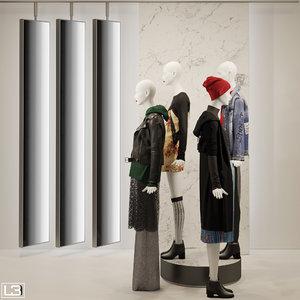3D fashion store