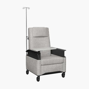 3D recliner chair model