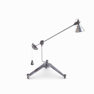 3D design floor lamp model