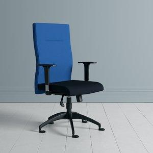 3D model fluent manager chair