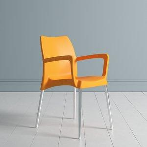 chairs gin tonic 3D model